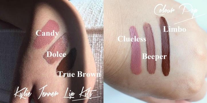 Kylie Jenner Colour Pop Lip Kit Dupes 2.jpg